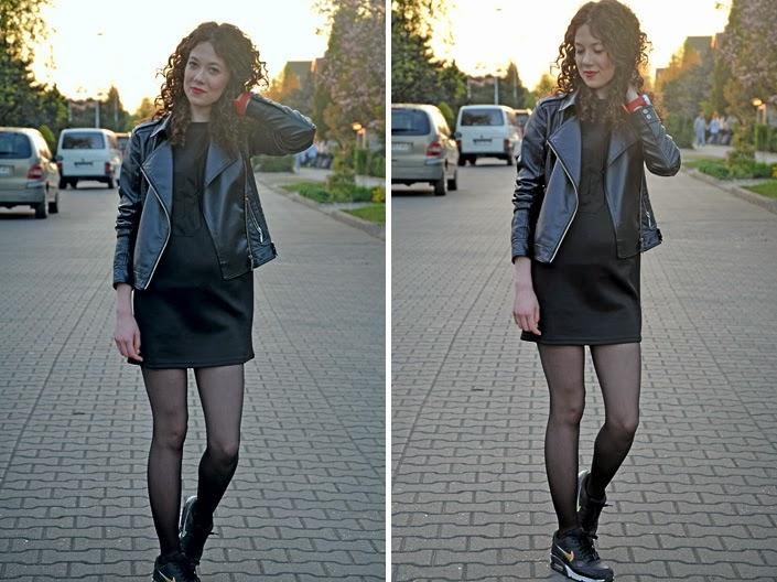 Black sport dress