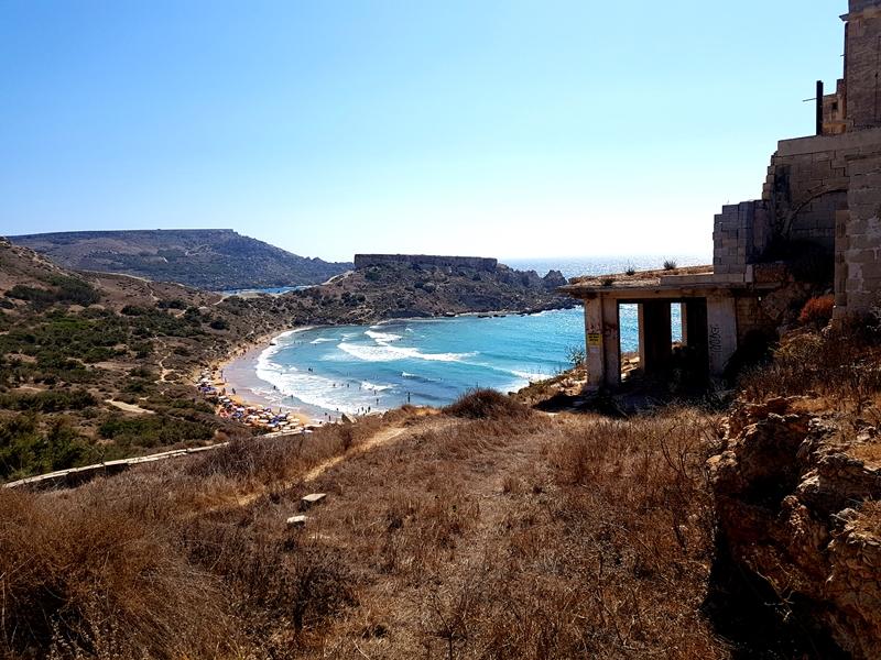 plaże na Malcie, plaża, Malta, plaża Malta, Tuffieha Bay