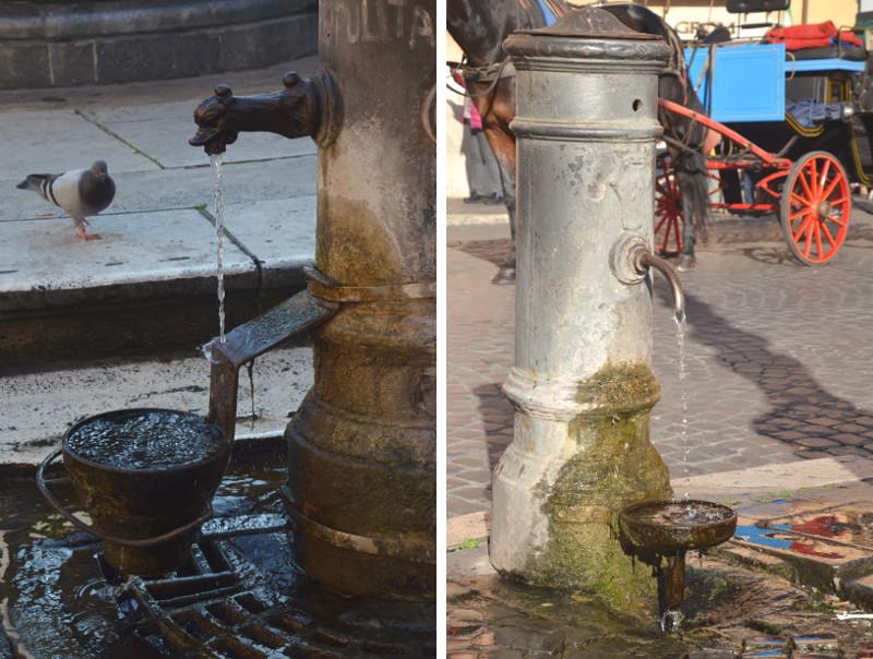 Włochy, Weekend, Rzym, nasone, woda, weekend w Rzymie, zwiedzanie