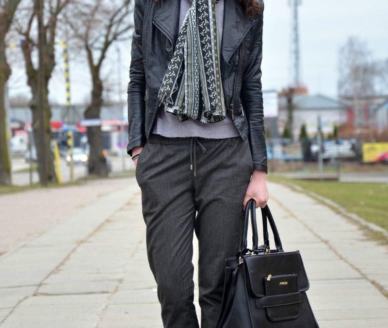 Zamiast rurek #1 – Jak się ubrać? Dresowe spodnie na kant.