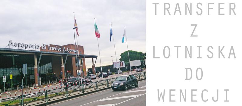 Wenecja, lotnisko Treviso, wyjazd do Wenecji, Włochy