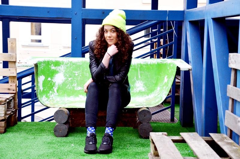 Hipsterski weekend w Łodzi: kolorowe skarpetki w Niebostanie