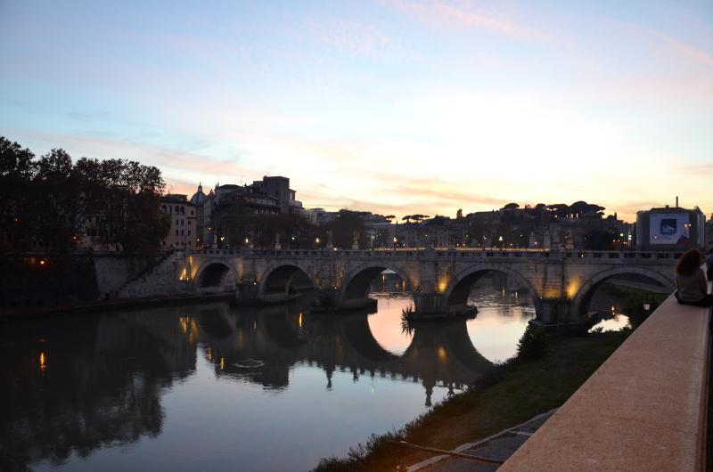 Watykan, Rzym, Włochy, weekend w Rzymie, weekend, spacer, wieczór