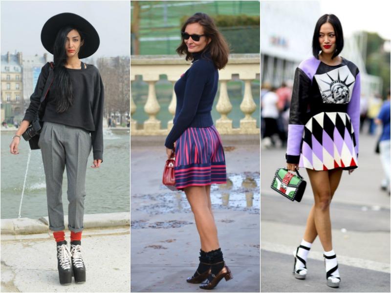 kolorowe skarpetki, jak nosić kolorowe skarpetki, inspiracje, trendy, fashion, moda