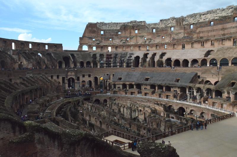Colloseum, Rzym, Włochy, zwiedzanie, weekend w Rzymie