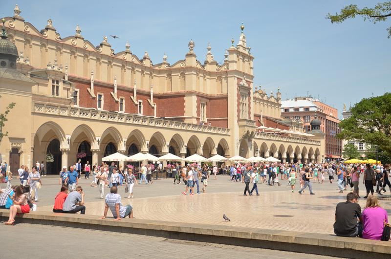 Krótka wizyta w Krakowie