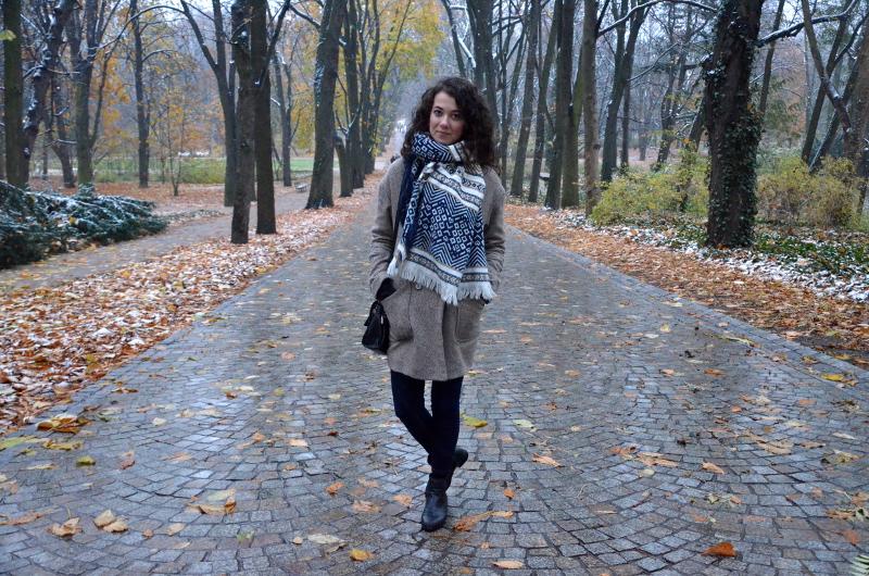 Jesienno- zimowa depesza z mroźnej stolicy