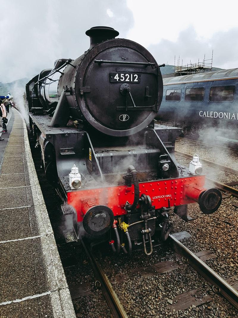 JAcobite train, Hogwart Express, Szkocja, Fort William, Mallaig, Glenfinnan