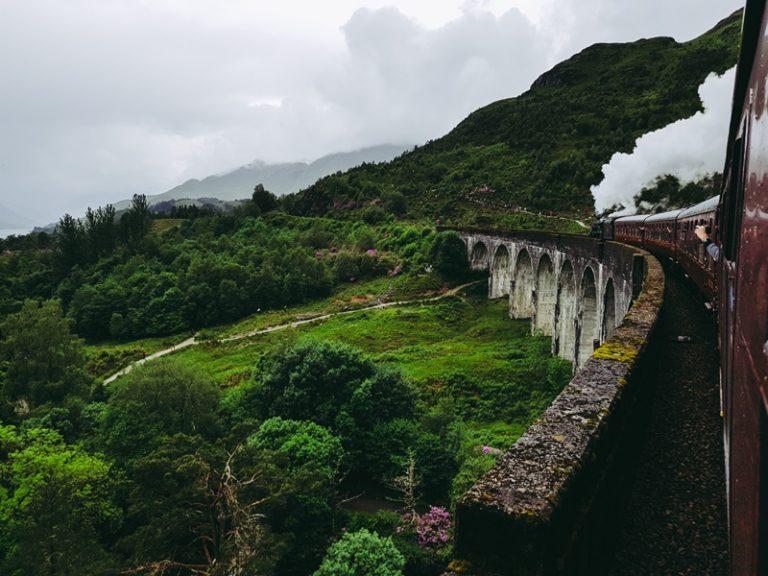 Jacobite train –  jak przejechać się Hogwart Expresem?