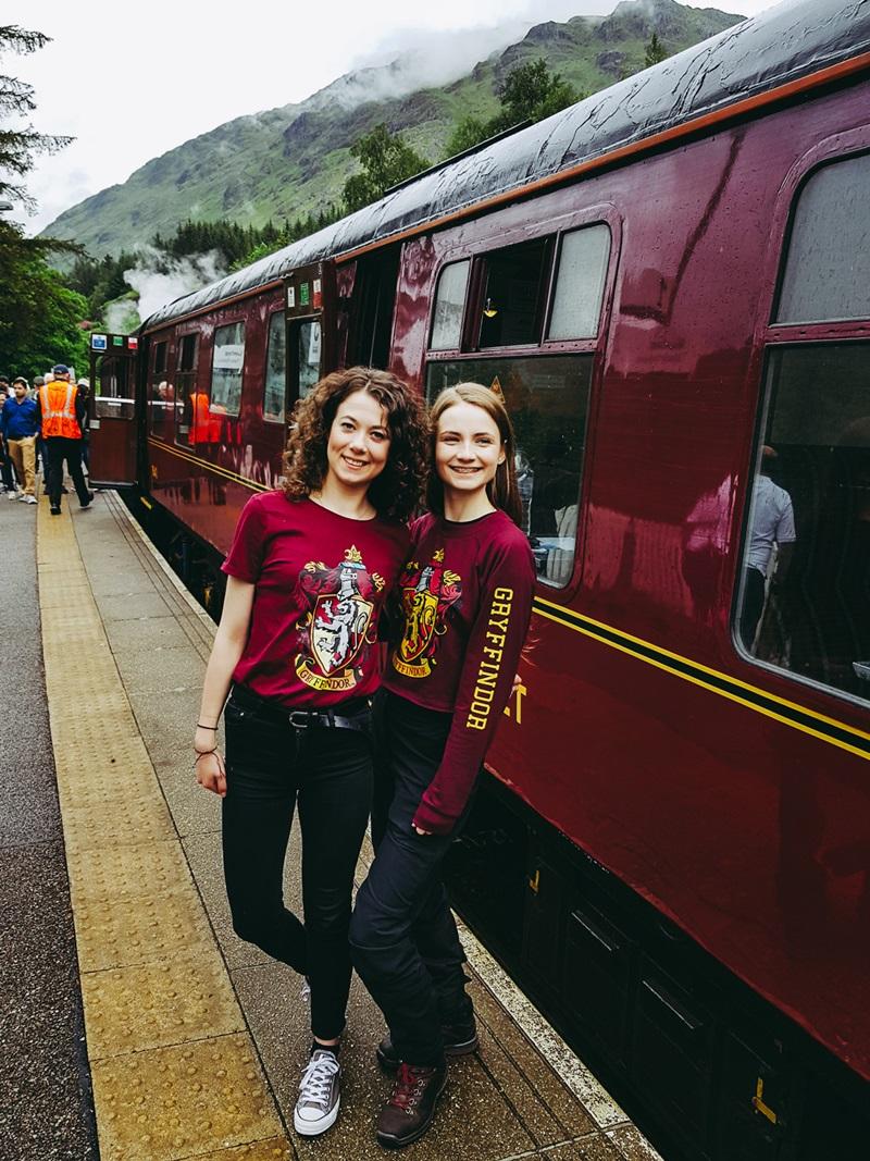 JAcobite train, Hogwart Express, Szkocja, Fort William, Mallaig, Glenfinnan, Harry Potter, wiadukt Szkocja