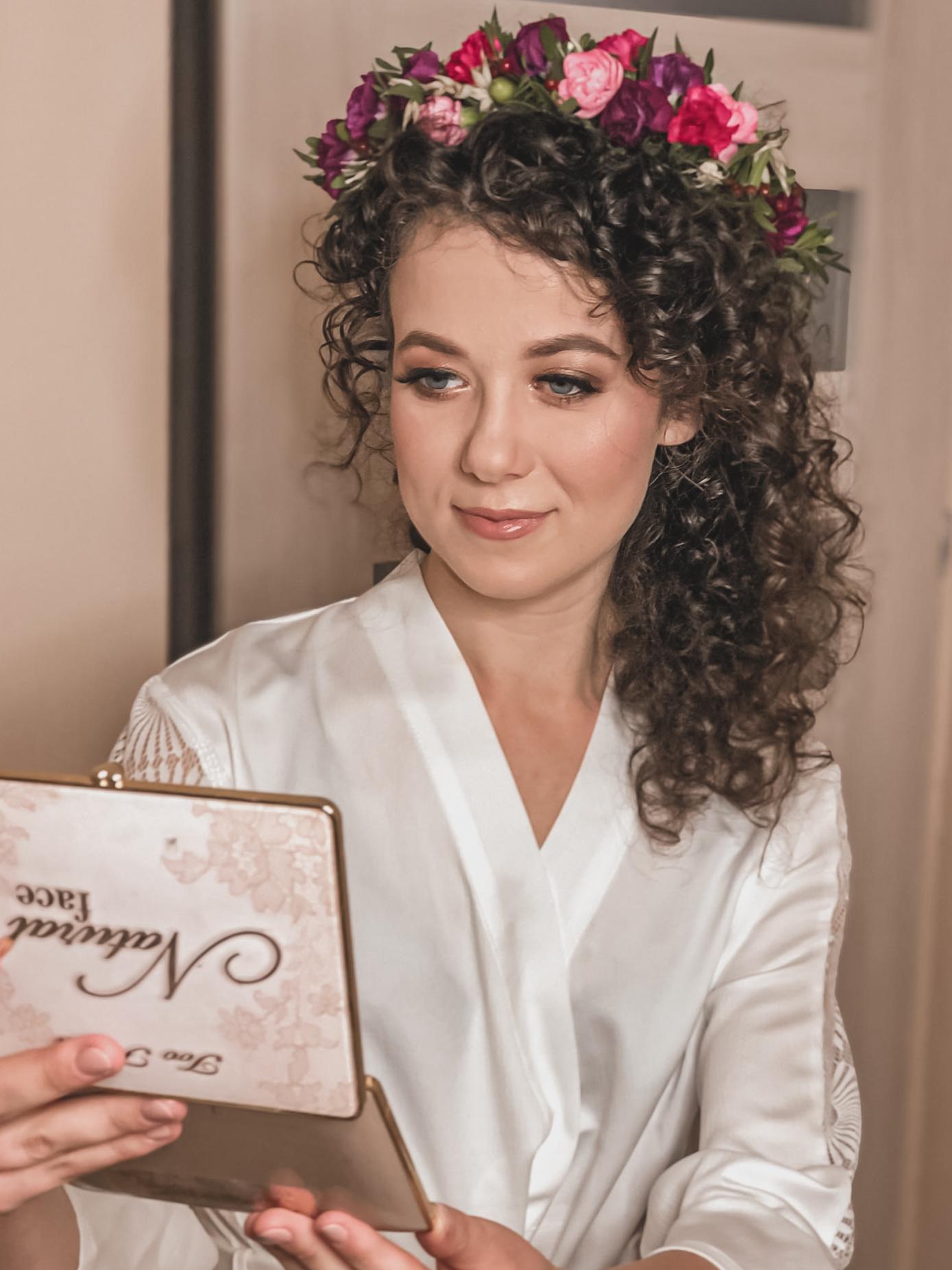 makijaż ślubny, zakreecony ślub, jagodzinska make up