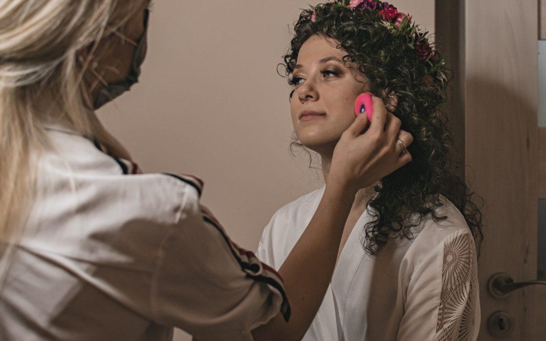 Zakreecony ślub – Makijaż panny młodej