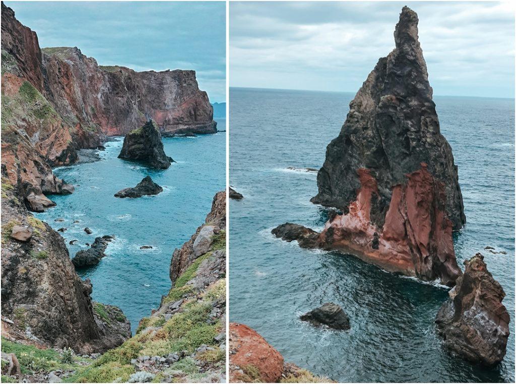 ponta de sao lorenco, półwysep św. wawrzyńca, madera, trasa trekingowa madera, ocean Madera