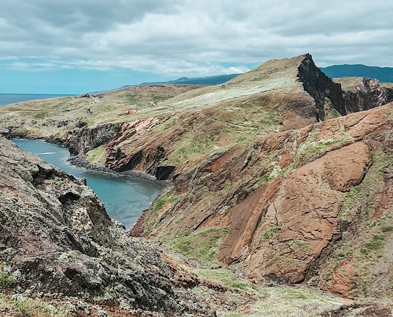 półwysep św. Wawrzyńca, Ponta de sao Lorenco, Madera, trasa trekingowa Madera, klify Madera, oceana